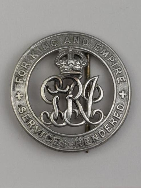 King's Silver War Badge