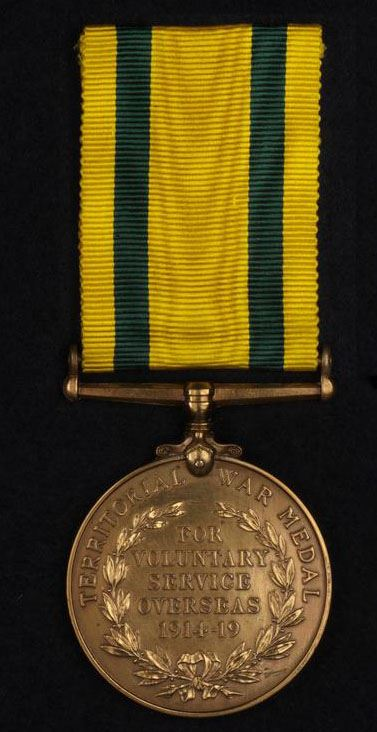 The Territorial Force War Medal (1914-1920)