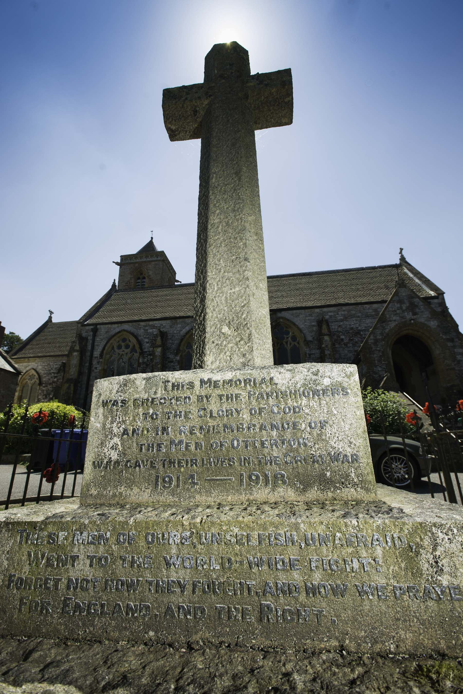 Otterton Memorial Cross
